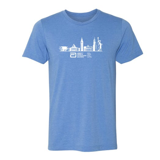 Abbott World Marathon Majors Men's Tee